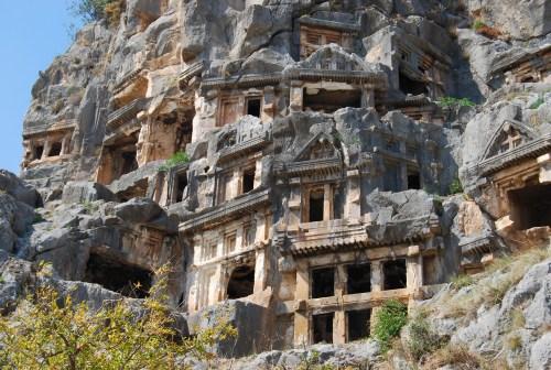 Lycian-Rock-Tombs-at-Myra[1]